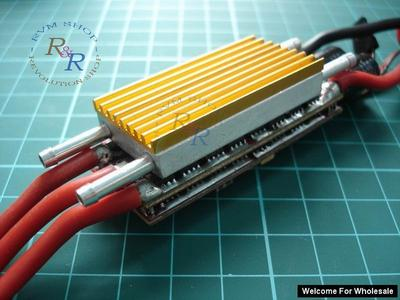 60A - 120A RC Boat ESC Water Cooling System