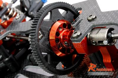 1/10 RC EP HP 4WD On-Road Shaft Drive Racing Car Carbon Fiber Chassis