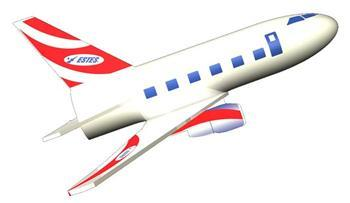 Estes Jetliner Mini Kit Level 1 EST3230