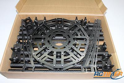 F1000-M8 Carbon Fiber Octocopter Frame 1000mm