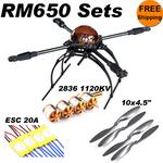 Multicopter X650 V4 2836-20A Sets