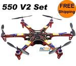 Red Multicopter SM550V2 2830&30A Combined