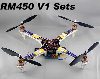 White Quadrotor SM450V1 2212&30A Sets
