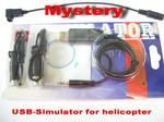 USB Simulator(4-8CH) for JR, Futaba, Esky LAMA ,Walkera