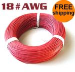 20 Meter #18AWG Silicon Wire Red
