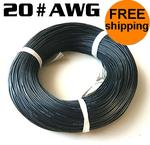 20 Meter #20AWG Silicon Wire Black