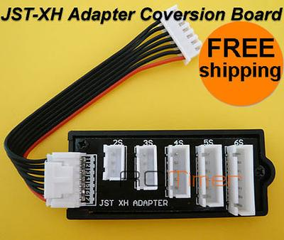 JST-XH Adapter Coversion Board W/ Polyquest Charger Plug RC8075