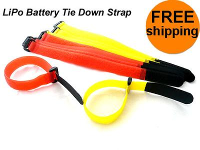 (5 Pairs) Fantastic LiPo Battery Tie Down Strap Length 30cm BTS30