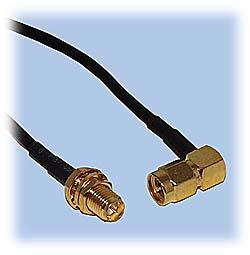 SMA to RP-SMA Extension Cable, RG-174 Coax
