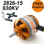 BC2826-15 930KV Outrunner Brushless Motor Free Mounts