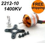2212-10 1400KV Outrunner Brushless Motor Free Mounts