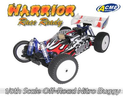 Warrior 4WD Buggy- Pro Version With Remote Starter