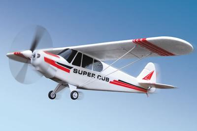 Super Cub Piper PA-18 4CH Brushless RC Plane - 2.4GHz