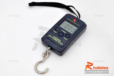 Portable Electronic RC Motor Pulling Power Digital Scale