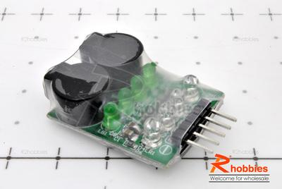 RC 2-4s Lipo Battery Low Voltage Buzzer