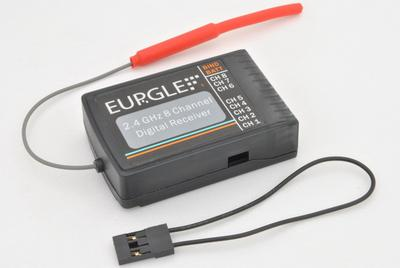 Eurgle 2.4Ghz 9 Channel RC Digital Receiver (3rd Generation)