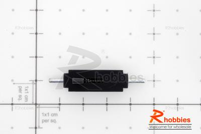 RC Plane L40 x W8 x H19mm Plastic Spring loaded Canopy Lock | RCMS