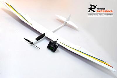 4 channel rc ep 3m gliderman arf thermo glider sailplane