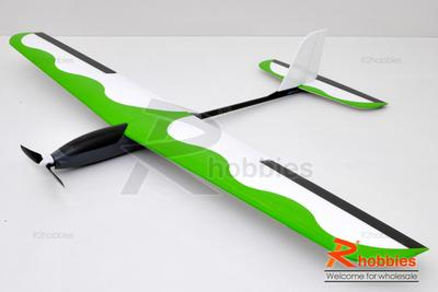 4Ch RC EP 1.4M Blue Wing Advance T-Tail Thermo Sailplane Glider