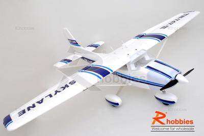 6Ch RC EP EPO 1.5M Cessna 182 TW-747-III Brushless PNP Foamy Scale Plane
