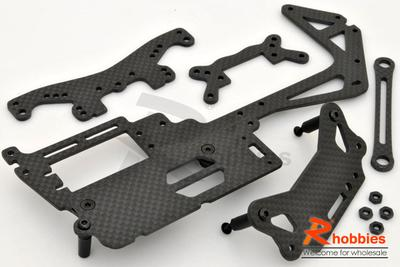 1/10 RC Car KYOSHO FW-05/06 Carbon Fiber Upgrade Kit