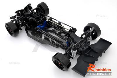 10 Rc Teh R31 Ep 3 Belt Drive Drift Car Chassis Transformer