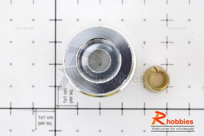 RC Boat Aluminium Φ7.0 x 22 x 32mm GP25 Metal Flywheel