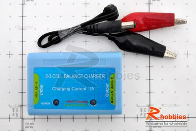 Eurgle 2 -3 Cells Lithium Polymer Lipo Battery Balance Charger