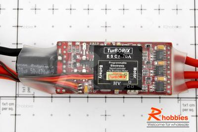 Turborix Advance Ultra-High Power 70A / 42V Brushless Motor ESC Electronic Speed Controller