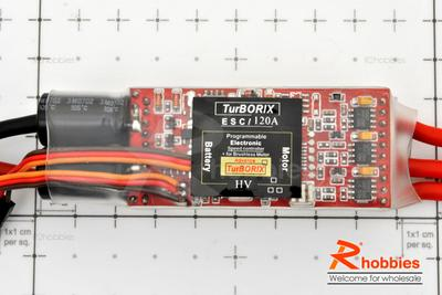 Turborix Advance Ultra-High Power 120A / 42V Brushless Motor ESC Electronic Speed Controller