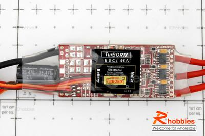 Turborix Advance 40A Brushless Motor ESC Electronic Speed Controller