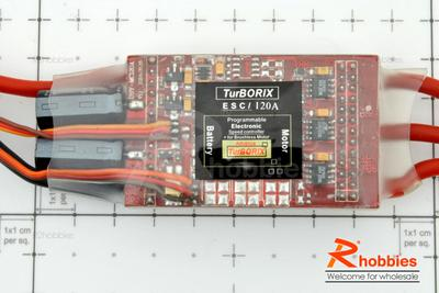Turborix Advance 120A Brushless Motor ESC Electronic Speed Controller