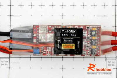 Turborix Advance 80A Brushless Motor ESC Electronic Speed Controller