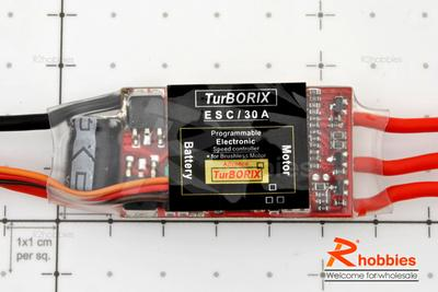 Turborix Advance 30A Brushless Motor ESC Electronic Speed Controller