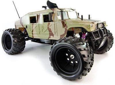 ShengQi 1/5th Petrol RC Monster Trucks - HUMMER 2.4Ghz