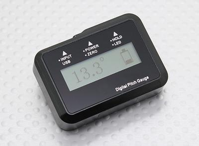 Flybarless Digital Pitch Gauge for R/C Helicopter