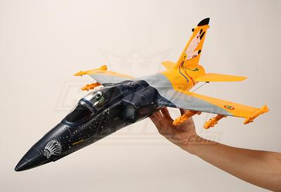 Mini AMX EDF Fighter Jet w/LiPo Battery, EPO Plug-n-Fly