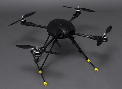 Bumblebee Carbon Fiber Quadcopter Frame 550mm