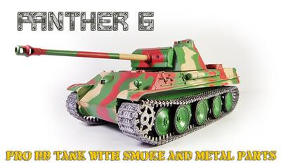 1/16 Panther G Radio Control Tank - Pro Version