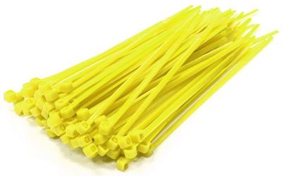 Integy Plastic Tie Wrap/Cable Tie Small (100) INTC23386YELLOW
