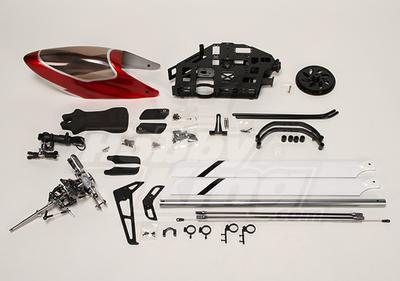 HK-500GT 3D Electric Helicopter Kit (incl. blades and extras)