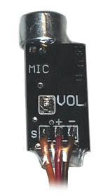 Tiny Mic Amplified Microphone with Volume Control
