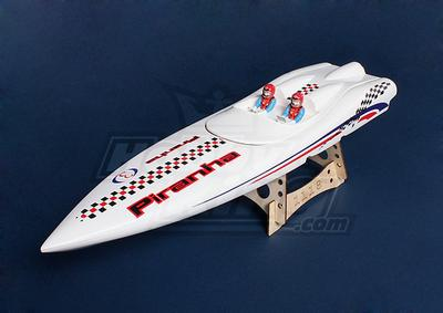 Piranha 600 (670mm) Fiberglass Hull only