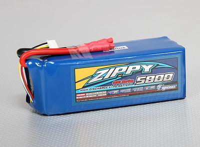ZIPPY Flightmax 5800mAh 6S1P 30C