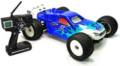 GS Racing XUT RTR 1/8th Scale Nitro RC Truggy 2.4G