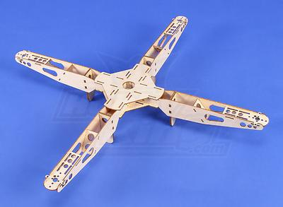 HobbyKing Mini Quadcopter Frame V1 - 539mm