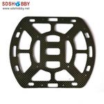 Carbon Fiber Fuselage Lower Plate with 3K Treatment for Bumblebee ST550 RC Quadcopter