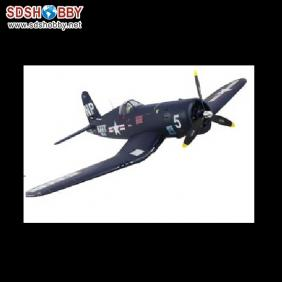 F4U Corsair EPO/ Foam Electric Airplane RTF with Retractable Landing Gear, 2.4G Right Hand Throttle