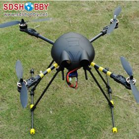ST550 Bumblebee Four-axis Flyer/Quadcopter Kit with Frame (Carbon Fiber Tripod) +Plastic Prop