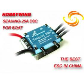 Hobbywing Seaking 25A Brushless ESC for Boat (Version2.0) with Water Cooling System
